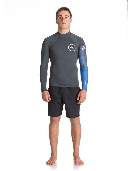 1mm Syncro series - top de surf à manches longues néoprène pour homme - noir - quiksilver