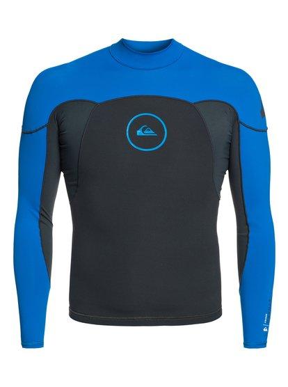 1mm Syncro series - top de surf à manches longues néoprène pour homme - bleu - quiksilver