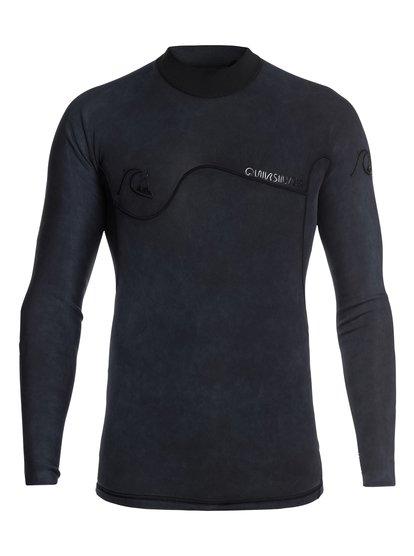 1.5mm Highline limited monochrome - top de surf à manches longues néoprène pour homme - noir - quiksilver