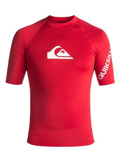 All Time - Short Sleeve UPF 50 Rash Vest  EQYWR03033