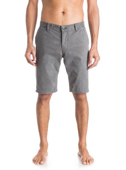 Шорты Everyday ChinoМужские шорты Everyday Chino от Quiksilver.ХАРАКТЕРИСТИКИ: ткань «чино», стандартный крой, длина 53,3 см (21), затертая хлопчатобумажная саржа.СОСТАВ: 100% хлопок.<br>