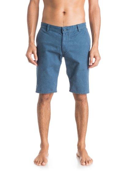 Everyday Chino ShortsМужские шорты Everyday Chino от Quiksilver.ХАРАКТЕРИСТИКИ: ткань «чино», стандартный крой, длина 53,3 см (21), затертая хлопчатобумажная саржа.СОСТАВ: 100% хлопок.<br>