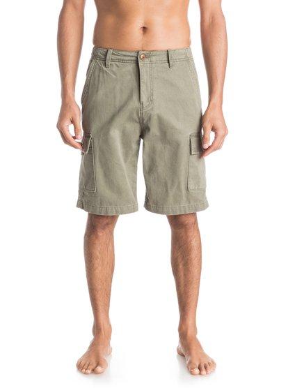 Everyday Cargo ShortsМужские шорты Everyday Cargo от Quiksilver. <br>ХАРАКТЕРИСТИКИ: карманы-карго, стандартный крой, длина 53,3 см (21), затертая хлопчатобумажная саржа. <br>СОСТАВ: 100% хлопок.<br>