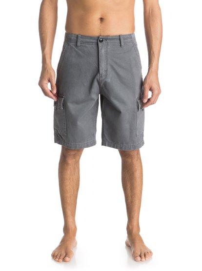 Everyday Cargo ShortsМужские шорты Everyday Cargo от Quiksilver.ХАРАКТЕРИСТИКИ: карманы-карго, стандартный крой, длина 53,3 см (21), затертая хлопчатобумажная саржа.СОСТАВ: 100% хлопок.<br>