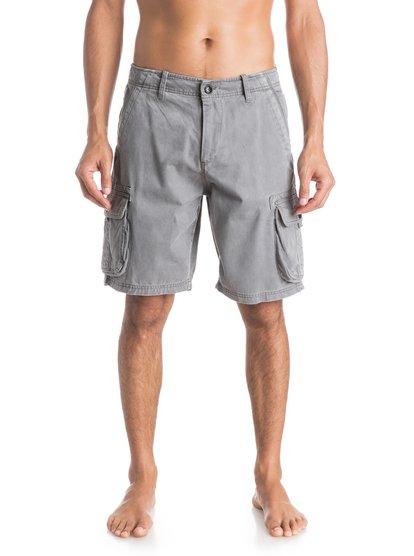 Deluxe ShortsМужские шорты Deluxe от Quiksilver. <br>ХАРАКТЕРИСТИКИ: карманы-карго, стандартный крой, длина 53,3 см (21), легкая ткань плотностью 283 г/кв. м. <br>СОСТАВ: 100% хлопок.<br>