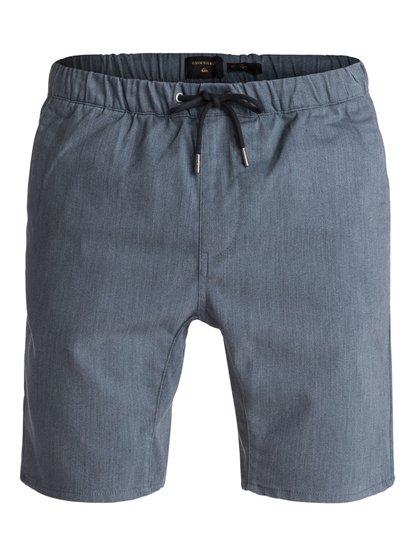 Fonic 19  - Pantalon de jogging en sergé pour Homme - Noir - Quiksilver