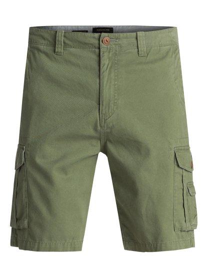 0 - short cargo pour homme - vert - quiksilver