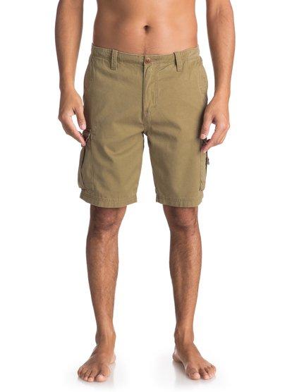 0 - short cargo pour homme - beige - quiksilver