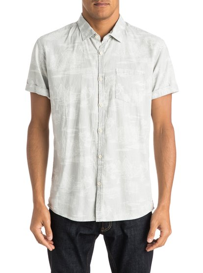 Quiksilver Men's Pyramid Point Shirt Short Sleeve Shirt