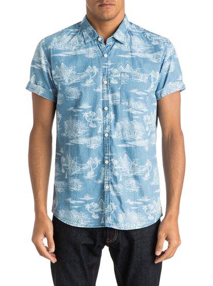 Men's Pyramid Point Shirt Short Sleeve Shirt от Quiksilver RU