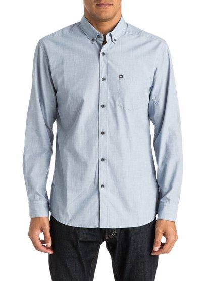 Wilsden Long Sleeve ShirtМужская рубашка с длинным рукавом Wilsden от Quiksilver.ХАРАКТЕРИСТИКИ: ткань плетения из нитей двух разных цветов, крой Modern, нагрудный карман, воротник на пуговицах.СОСТАВ: 60% хлопок, 40% полиэстер.<br>
