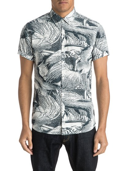 Quiksilver Dark Trip Shirt Short Sleeve Shirt