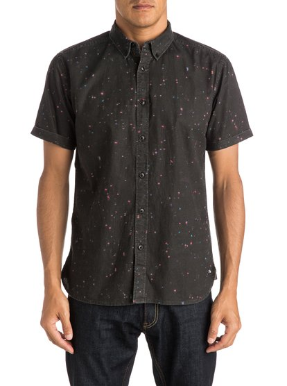 Quiksilver Ghetto Lights Shirt Short Sleeve Shirt
