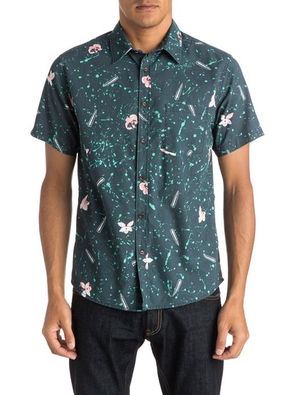 Sweet And Sour Shirt Short Sleeve Shirt QUIKSILVER