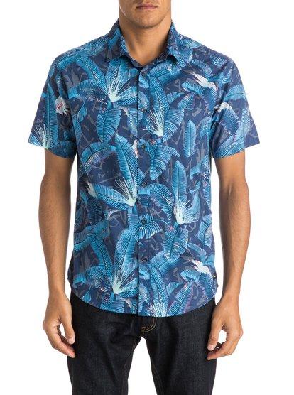 Men's Riot Shirt Short Sleeve Shirt QUIKSILVER