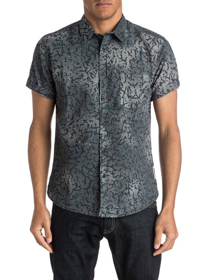 Quiksilver Cracked Shirt Short Sleeve Shirt