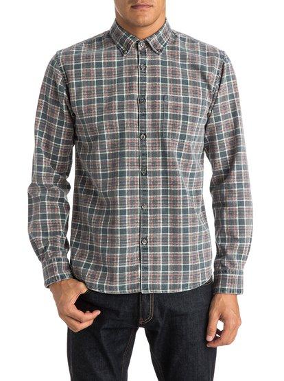 Mens Prelock Long Sleeve ShirtМужская рубашка с длинным рукавом Prelock от Quiksilver.ХАРАКТЕРИСТИКИ: длинные рукава, хлопчатобумажная саржа, узкий крой, в клетку.СОСТАВ: 100% хлопок.<br>