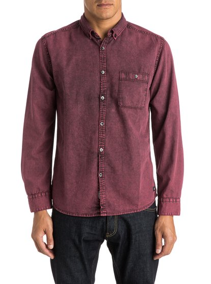 Quiksilver Men's The Clackton Long Sleeve Shirt