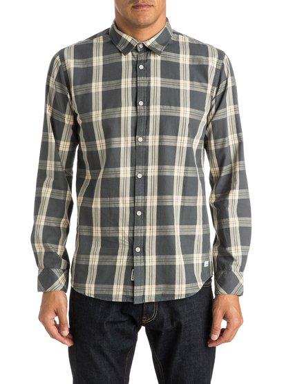 Atlantic Jungle - chemise manches longues pour homme - noir - quiksilver