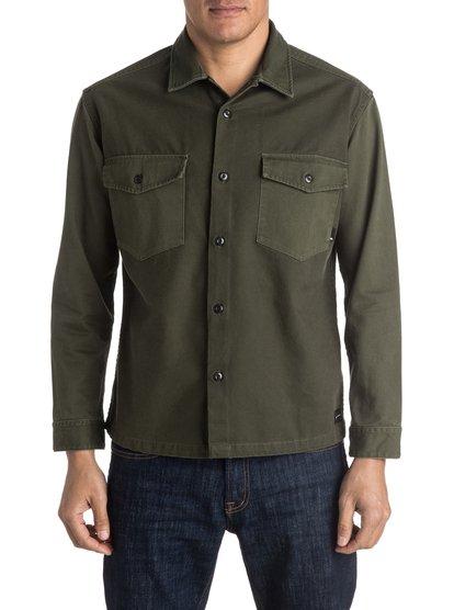 Рубашка Counter Fire с длинным рукавомНе позволяйте поймать себя в рубашке Counter Fire. Ее армейский стиль сочетается с ее поистине армейской долговечностью, а двойные нагрудные карманы позволят носить с собой в два раза больше шоколада, чем если бы карман был один. Прочная саржа, современный крой и высокий стритовый стиль.Если AM Collection правит бал днем, то PM Collection подкрадывается с последними лучами заходящего солнца, когда наступает ночь. Эта ночная коллекция темнее, мрачнее и опаснее, она воплощает собой уличную культуру и стиль. Худи, брюки, рубашки и шорты сливаются с ночными тенями и растворяются в чернильной тьме.<br>