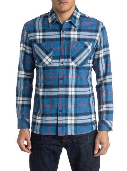 Рубашка с длинным рукавом Fitzthrower Flannel от Quiksilver RU