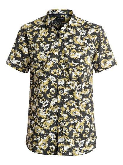 Рубашка с коротким рукавом Drop OutРубашка Drop Out даст фору любой обычной рубашке с цветочным принтом. Ее узоры складываются в причудливый рисунок, ее тонкий и легкий хлопок приятен к телу, а в ее нагрудном кармане можно разместить пару важных и нужных вам вещей. И вишенка на тортике — чуть удлиненный и зауженный крой Modern.<br>