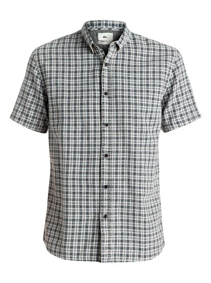 Рубашка с коротким рукавом The Linen Check quiksilver quiksilver every checkss you wvtp everyday check dark