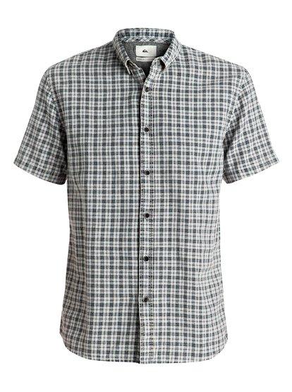 The Linen Check - Short Sleeve Shirt  EQYWT03488