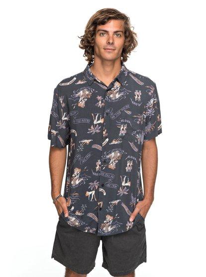 Aloha Strip club - chemise à manches courtes pour homme - noir - quiksilver