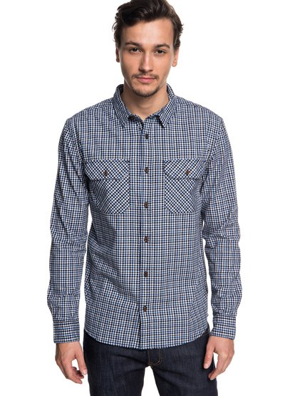 Рубашка с длинным рукавом Fuji View - Черный