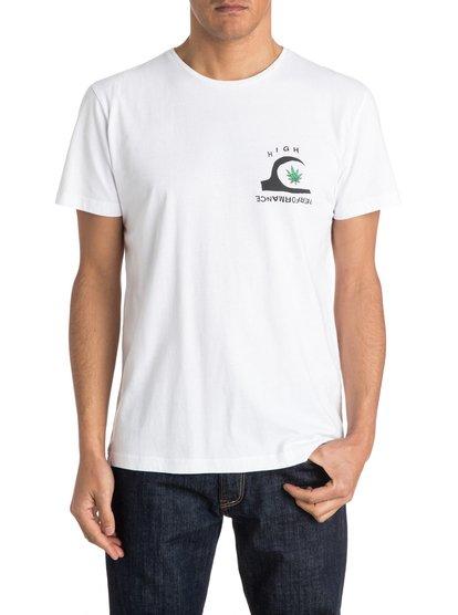 Happy TrippМужская футболка Happy Tripp от Quiksilver. Характеристики: хлопчатобумажный трикотаж, легкая ткань плотностью 150 г/кв. м, современный крой. <br>СОСТАВ: 100% хлопок.<br>