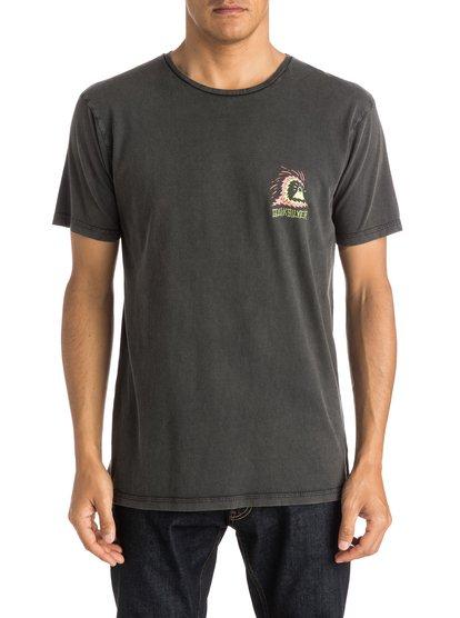 Storm T-ShirtМужская футболка Storm от Quiksilver.ХАРАКТЕРИСТИКИ: короткие рукава, мягкий натуральный трикотаж, крой Premium, изделие окрашено по технологии acid wash после изготовления.СОСТАВ: 100% хлопок.<br>