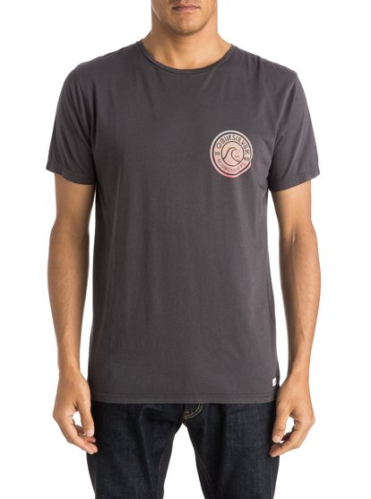 Mens Garment Dyed Spiral T-ShirtМужская футболка Garment Dyed Spiral от Quiksilver. <br>ХАРАКТЕРИСТИКИ: мягкий натуральный трикотаж, легкий текстиль плотностью 140 г/кв. м, крой Premium, изделие окрашено после изготовления. <br>СОСТАВ: 100% хлопок.<br>