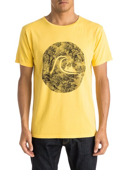 Quiksilver Men's Garment Dyed Sunset Tunels T-Shirt