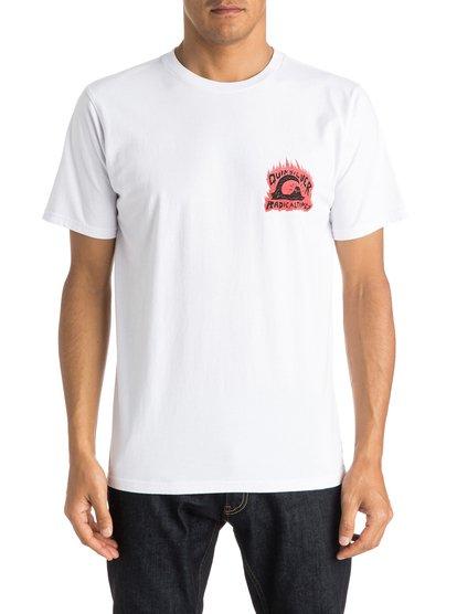Sweet And Sour T-ShirtМужская футболка Sweet, Sour от Quiksilver. <br>ХАРАКТЕРИСТИКИ: короткие рукава, мягкий натуральный трикотаж, ткань средней плотности 180 г/кв. м, брендинг коллекции Dark Rituals. <br>СОСТАВ: 100% хлопок.<br>