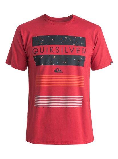 Classic Line Up - T-shirt pour homme - Rouge - Quiksilver