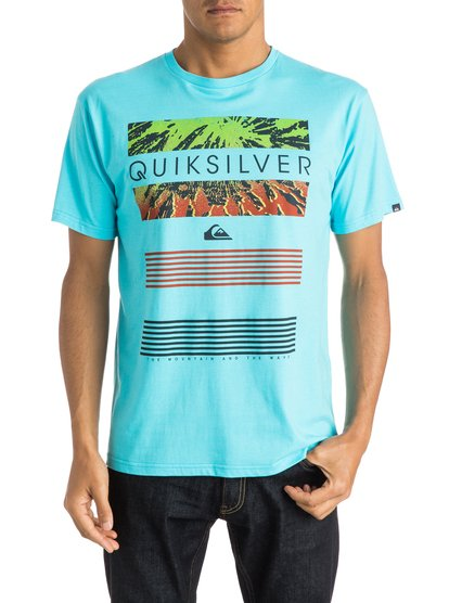 Mens Classic Line Up T-ShirtМужская футболка Classic Line Up от Quiksilver.ХАРАКТЕРИСТИКИ: короткие рукава, мягкий натуральный трикотаж, легкий текстиль, стандартный крой.СОСТАВ: 100% хлопок.<br>