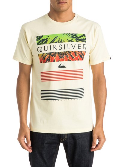 Mens Classic Line Up T-ShirtМужская футболка Classic Line Up от Quiksilver. <br>ХАРАКТЕРИСТИКИ: короткие рукава, мягкий натуральный трикотаж, легкий текстиль, стандартный крой. <br>СОСТАВ: 100% хлопок.<br>