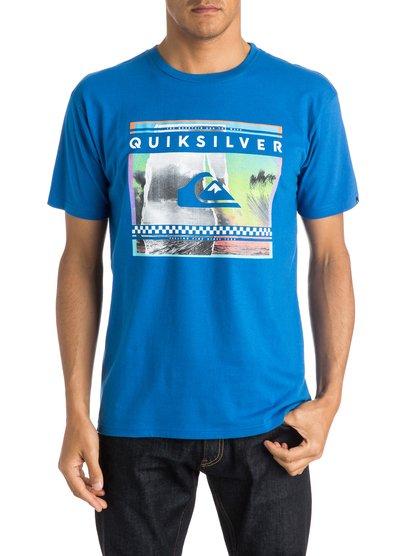 Mens Classic Sprayed Out T-ShirtМужская футболка Classic Sprayed Out от Quiksilver.ХАРАКТЕРИСТИКИ: короткие рукава, мягкий натуральный трикотаж, легкий текстиль, стандартный крой.СОСТАВ: 100% хлопок.<br>
