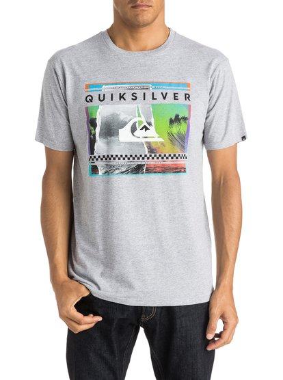 Mens Classic Sprayed Out T-ShirtМужская футболка Classic Sprayed Out от Quiksilver.<br>ХАРАКТЕРИСТИКИ: короткие рукава, мягкий натуральный трикотаж, легкий текстиль, стандартный крой. <br>СОСТАВ: 100% хлопок.<br>
