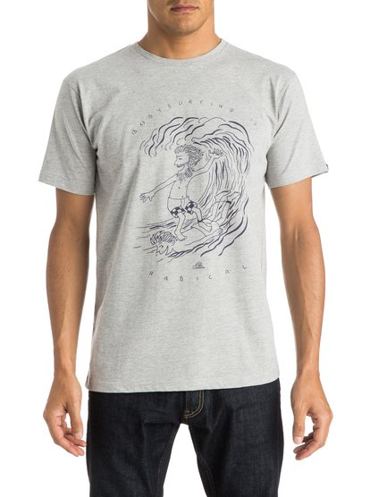 Quiksilver Men's Classic Radical Surfing T-Shirt
