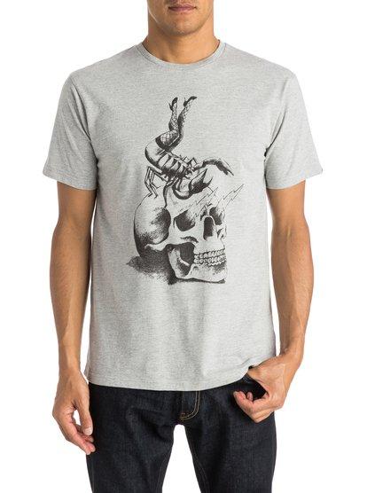 Mens Classic Scorpion Rules T-ShirtМужская футболка Classic Scorpion Rules от Quiksilver. <br>ХАРАКТЕРИСТИКИ: короткие рукава, мягкий натуральный трикотаж, легкий текстиль, стандартный крой. <br>СОСТАВ: 100% хлопок.<br>