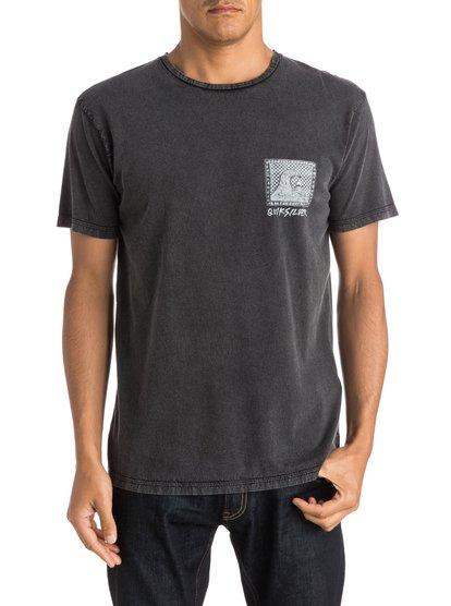 Checkered Past T-ShirtМужская футболка Checkered Past от Quiksilver. <br>ХАРАКТЕРИСТИКИ: короткие рукава, мягкий натуральный трикотаж, брендинг коллекции Dark Rituals, крой Premium. <br>СОСТАВ: 100% хлопок.<br>
