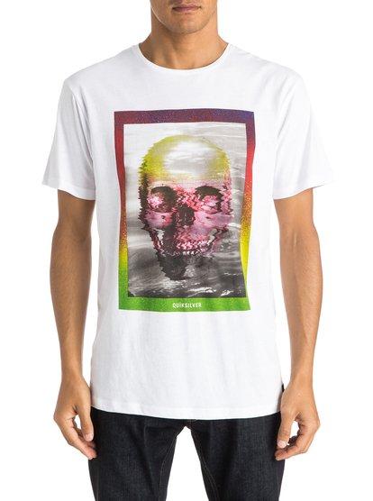 Mens Skully Acid T-ShirtМужская футболка Skully Acid от Quiksilver. <br>ХАРАКТЕРИСТИКИ: короткие рукава, мягкий натуральный трикотаж, легкий текстиль плотностью 140 г/кв. м, крой Premium. <br>СОСТАВ: 100% хлопок.<br>