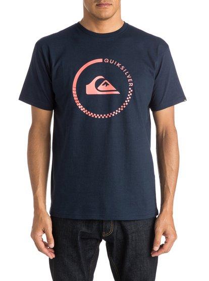 Mens Classic Active Check T-ShirtМужская футболка Classic Active Check от Quiksilver. <br>ХАРАКТЕРИСТИКИ: короткие рукава, мягкий натуральный трикотаж, легкий текстиль, стандартный крой. <br>СОСТАВ: 100% хлопок.<br>