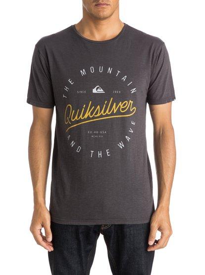 Mens Slub Scriptville T-ShirtМужская футболка Slub Scriptville от Quiksilver. <br>ХАРАКТЕРИСТИКИ: короткие рукава, хлопок неровной вязки, легкий текстиль плотностью 140 г/кв. м, крой Modern. <br>СОСТАВ: 100% хлопок.<br>