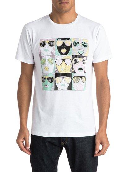 Mens Spot Check T-ShirtМужская футболка Michael Leon X Arkitip Spot Check от Quiksilver.ХАРАКТЕРИСТИКИ: коллаборация Michael Leon X Arkitip, легкий текстиль плотностью 150 г/кв. м, крой Premium, графический трафаретный принт от Майкла Леона.СОСТАВ: 100% хлопок.<br>