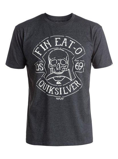 Heather Fin Eat - T-Shirt  EQYZT03894