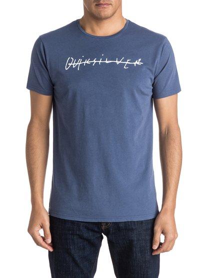 Футболка Logo Quik SignatureТрудно придумать что-то более очевидно «квиковое», чем футболка Logo Quik Signature с логотипом Quiksilver. Мягкая и удобная, с винтажным характером и положительными намерениями, она воплощает в себе классику Quiksilver. Крой Premium и никакого мошенничества.<br>