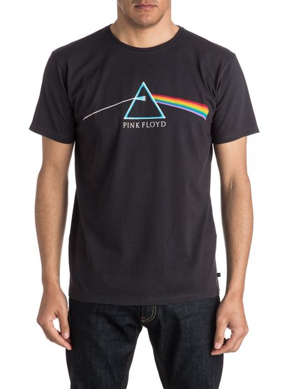 Quiksilver Music Collab Pink Floyd - T-ShirtExperimenting with concept albums and studio effects, Pink Floyd took us into the abyss of progressive and psychedelic rock, blowing minds leaving us creatively in tune. The Quiksilver Music Collab Collaboration: Rock and Roll was never just music to us. It was an attitude. A mindset that inspired both how we surf, and how we saw the world. To honour musics influence on surf culture Quiksilver is commemorating some of its biggest icons through this limited edition.<br>